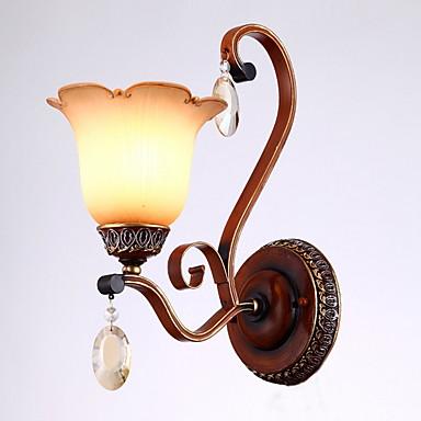 Nytt Design Vintage Vegglamper Stue Metall Vegglampe 220-240V 40 W / E27