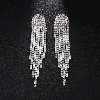 povoljno Naušnice-Žene Viseće naušnice Europska Moda Naušnice Jewelry Pink Za Vjenčanje Dnevno 1 par