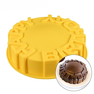 Happy Birthday Cake Mold Silicone Baking Pan Party Kids Funny Cute Cool 6744778 2018 681