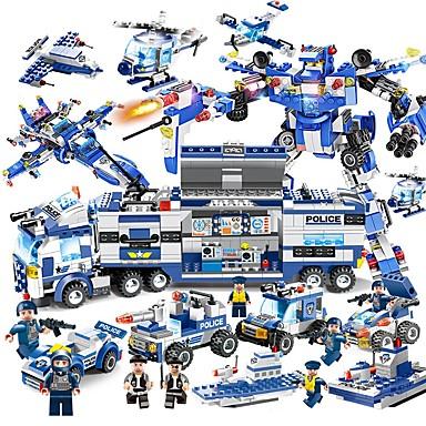 Byggeklosser Konstruksjonssett Leker Pedagogisk leke 825 pcs Kjøretøy kompatibel Legoing Lindrer ADD, ADHD, angst, autisme Dekompresjon Leker Foreldre-barninteraksjon Gutt Jente Leketøy Gave