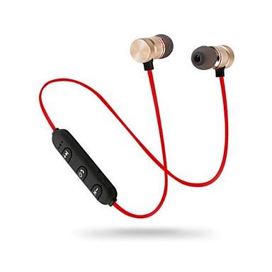 litbest magnetisk halsbånd trådløst Bluetooth øretelefon stereo sports ørepropper trådløst in-ear headset med mikrofon volumkontroll for iphone samsung