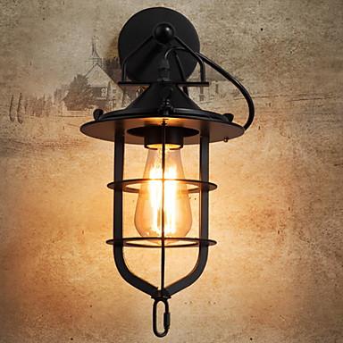 Anti-refleksjon Antikk Vegglamper Stue / Utendørs Metall Vegglampe 220-240V 40 W / E27