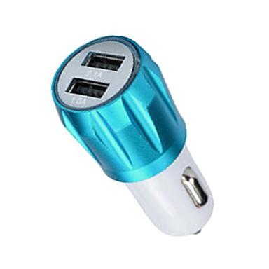 levne Auto Elektronika-YuanYuanBenBen Auto Auto USB nabíječka Socket 2 USD porty pro 12 V