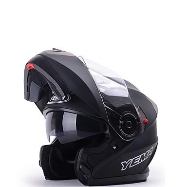 billige Motorsykkel & ATV tilbehør-YEMA 925 Modul Voksen Herre Motorsykkel hjelm Støtsikker / Anti-UV / Vindtett