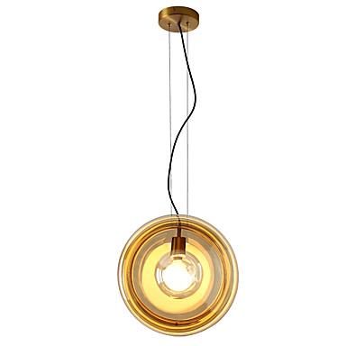 ZHISHU Geometrisk / Mini / Originale Anheng Lys Omgivelseslys Malte Finishes Metall Glass Kreativ, Nytt Design 110-120V / 220-240V Pære Inkludert / E26 / E27