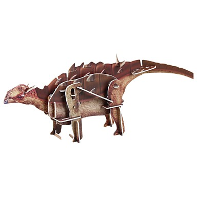 levne 3D puzzle-3D puzzle Jurský dinosauř Stres a úzkost Relief / Interakce rodič-dítě 1 pcs SUV Dětské Vše Dárek