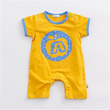 e0d922da8 Baby Boys' Basic Solid Colored Short Sleeves Polyester Romper Orange /  Toddler 6737736 2019 – $15.11