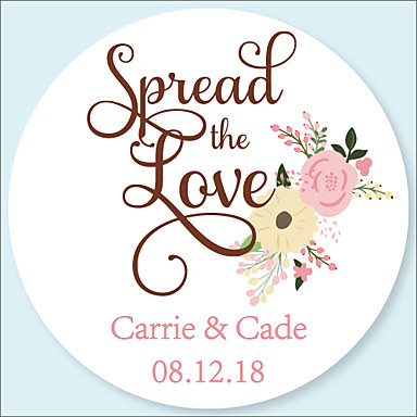 Wedding Stickers Labels Tags 48 Pcs Circular Envelope Sticker All Seasons 6767845 2018 6 99