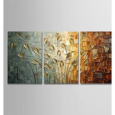 povoljno Ulja na platnu-ručno oslikane moderne apstraktne umjetnosti platna paun slike zid home dekor tri ploče spreman za objesiti