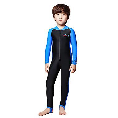 Dive&Sail Pojkar Tätsittande dykardräkt Dykardräkter SPF50 UV Solskydd Snabb tork Heltäckande Dykning