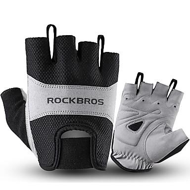 povoljno Motori i quadovi-ROCKBROS Half-prst Uniseks Moto rukavice Tkanina / Spandex Lycra Prozračnost / Ne skliznuti