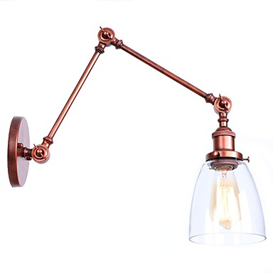 Mini Stil / Nytt Design Retro / vintage / Land Swing Arm Lights Spisestue / butikker / cafeer Metall Vegglampe 110-120V / 220-240V 40 W