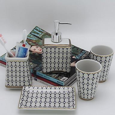 Set d 39 accessoires de salle de bain design nouveau moderne - Accessoires de salle de bain design ...
