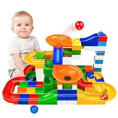 Marble Run Race marmora palaist komplekts marmora palaist STEAM rotaļlieta radoša vecāku un bērnu mijiedarbība Bērnu unisex zēnu meiteņu dāvanu dāvana 104 gab