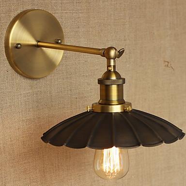 Kul Antikk Vegglamper Stue / Entré Metall Vegglampe 220-240V 40 W
