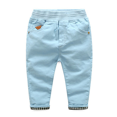 280b8c7cbb8 Παιδιά Αγορίστικα Βασικό Μονόχρωμο Πολυεστέρας Παντελόνι Μπλε Απαλό 100  6746257 2019 – $11.96