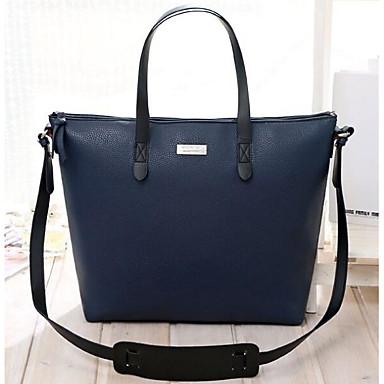 2afb91dc67 Women s Bags PU(Polyurethane) Shoulder Bag Zipper Beige   Dark Blue   Coffee  6771774 2019 –  19.99