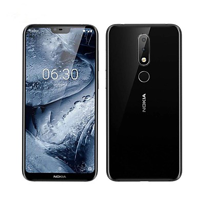 Nokia က X6 5.8 လက်မ 4G စမတ်ဖုန်း (6GB 64GB 5 + MP / MP Snapdragon 16 636 3060 mAh ဘက်ထရီ mAh ဘက်ထရီ)