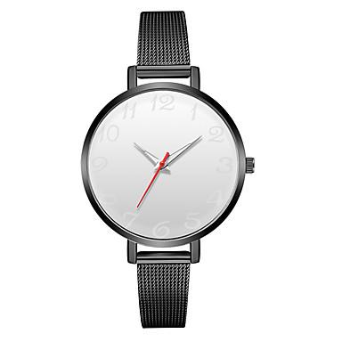 levne Dámské-Geneva Dámské Náramkové hodinky Křemenný Černá / Stříbro Nový design Hodinky na běžné nošení Cool Analogové dámy Na běžné nošení Módní - Bílá / stříbrná Černá / Bílá Černá / Stříbrná Jeden rok