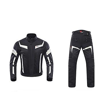 povoljno Motori i quadovi-DUHAN 185 Odjeća za motocikle Jacket Pants SetforMuškarci Polyster Ljeto Otporne na nošenje / Otporno na trešnju / Prozračnost