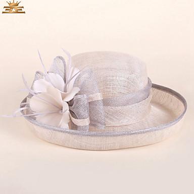 povoljno Party pokrivala za glavu-Žene Color block Zabava Polucilindar i cloche šešir
