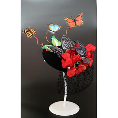 povoljno Party pokrivala za glavu-Flanel / Pjena Šeširi / Headpiece s Kapa / Cvijet 1pc Vjenčanje / Special Occasion Glava