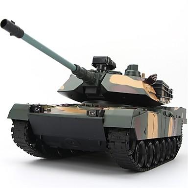 cheap RC Tanks-XINGYUCHUANQI 2125 Crawler / Tank 1:10 RC Car 3 km/h 2.4G Ready-to-go Tank / 1 x Remote Controller / Gift Box Kids / Teen / Remote-Controlled / Strike Bezel