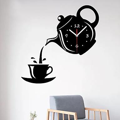 cheap Wall Clocks-Modern / Contemporary Plastic & Metal Irregular Indoor / Outdoor,AA Batteries Powered Wall Clock
