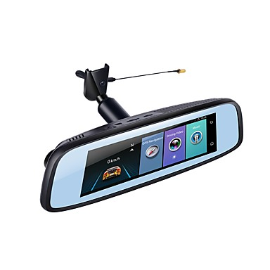 billige Bil DVR-Factory OEM 1080p HD / Nattesyn Bil DVR 140 grader Vidvinkel 12 MP 7.85 inch IPS Dash Cam med WIFI / GPS / Night Vision Nej Biloptager / Parkeringsindstilling / Loop-optagelse / auto on / off / ADAS