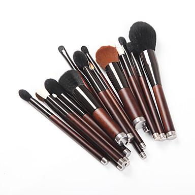 preiswerte Make-up-Pinsel-Sets-Professional Makeup Bürsten Hautpflege 19pcs vollständige Bedeckung Holz / Bambus zum