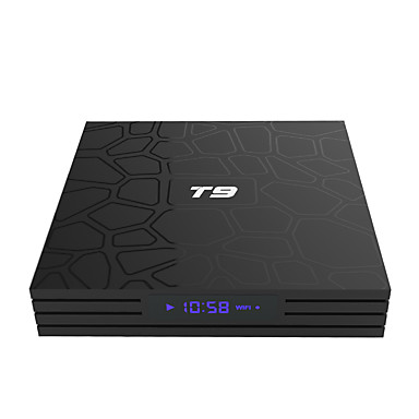 PULIERDE T9 TV Box Android TV Box 8.1 RK3328 4GB Octa Core RAM ROM 32GB New Design