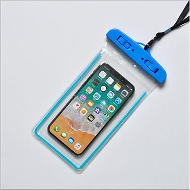 povoljno iPhone maske-Θήκη Za Apple iPhone X / iPhone 8 Plus / iPhone 8 Vodootporno Vrećica Jednobojni Mekano TPU
