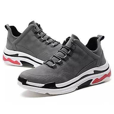 c455e5939 للرجال PU صيف مريح أحذية رياضية الركض أسود / رمادي 6794411 2019 – $34.99