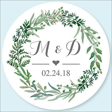 Wedding Stickers Labels Tags 48 Pcs Circular Envelope Sticker All Seasons 6834858 2018 6 99