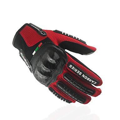 billige Motorsykkel & ATV tilbehør-Madbike Full Finger Unisex Motorsykkel hansker Oxfordtøy / Blandet Materiale Berøringsskjerm / Pustende / Slitasje-sikker