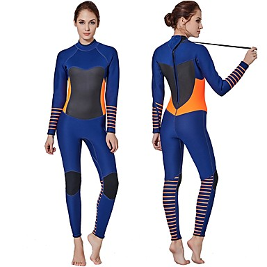 00ee6a5e05 Women s Full Wetsuit 3mm SCR Neoprene Diving Suit Anatomic Design Stretchy  Long Sleeve Autumn   Fall Spring Summer   Winter   Micro-elastic 6831697  2019 – ...