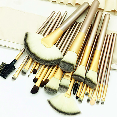cheap Makeup Brush Sets-Professional Makeup Brushes Makeup Brush Set 24pcs Eco-friendly Professional Soft Full Coverage Comfy Artificial Fibre Brush Wooden / Bamboo for