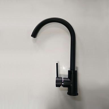 ก๊อกน้ำอ่างล้างจานห้องน้ำ - กระจาย ทองแดงขัดน้ำมัน ติดโต๊ะ จับเดี่ยวหนึ่งหลุมBath Taps