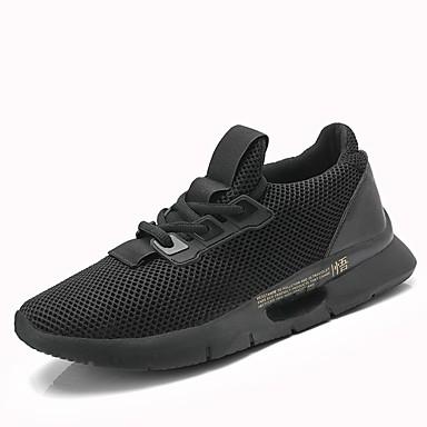 5a38fd3fd0be Ανδρικά Παπούτσια άνεσης Πλεκτό   Δίχτυ Καλοκαίρι Αθλητικά Παπούτσια  Τρέξιμο   Στίβος Μαύρο   Γκρίζο   Αθλητικό 6822882 2019 –  26.99