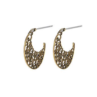 levne Dámské šperky-Dámské Peckové náušnice Krevety Náušnice MOON kreativita dámy Vintage Náušnice Šperky Zlatá / Stříbrná Pro Párty Denní Street 1 Pair