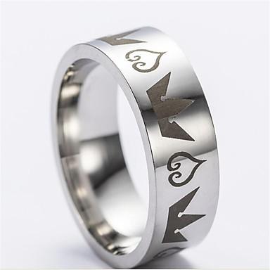 Ανδρικά Κομψό Δαχτυλίδι για τη μέση των δαχτύλων - Ανοξείδωτο Ατσάλι  Στυλάτο 142e0a0c75b