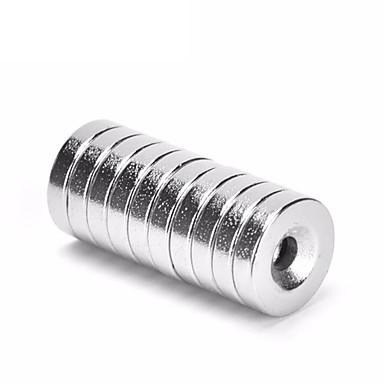 preiswerte Handwerkzeuge-10 stücke 8x3mm loch 3mm super starke ring schleife versenkmagnet seltene erde neo neodym magneten zylinder 8mm