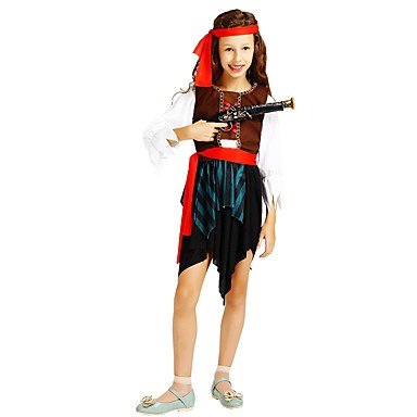 Pirate Costume Fille Adolescent Halloween Halloween Carnaval Le Jour