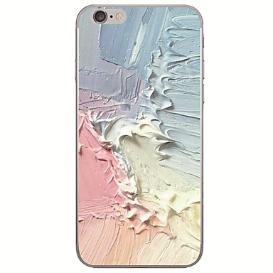 povoljno iPhone maske-Θήκη Za Apple iPhone X / iPhone 8 Plus / iPhone 8 Ultra tanko / Uzorak Stražnja maska Krajolik / Uljane slike Mekano TPU