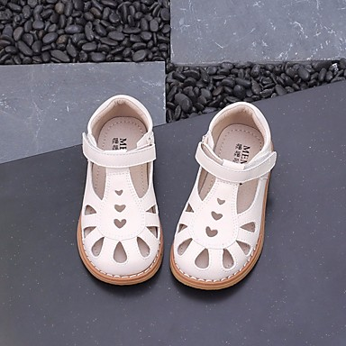 Girls Shoes Microfiber Summer Comfort Flower Girl Shoes Sandals