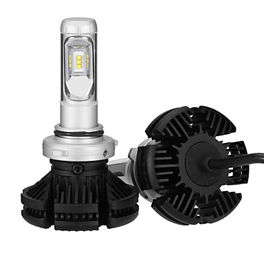2pcs 9006 Light Bulbs 25 W Integrated LED 2500 Lm 6 Headlamp 2018 6836560 2799