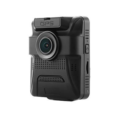 رخيصةأون فيديو السيارة-GS65H 480p / 720p / 960p HD / ليلة الرؤية سائق سيارة 150 درجة / 130 درجة زاوية واسعة 12 MP 2.4 بوصة LCD داش كام مع GPS / ليلة الرؤية / G-Sensor لا مسجل السيارة / 1080p / تسجيل غير منتهي