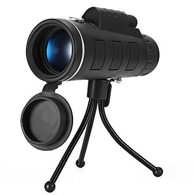 cheap Binoculars, Monoculars & Telescopes-10 X 40 mm Monocular Waterproof Night Vision in Low Light Multi-coated BAK4 Hunting Outdoor Exercise Camping / Hiking / Caving PU Leather / Bird watching