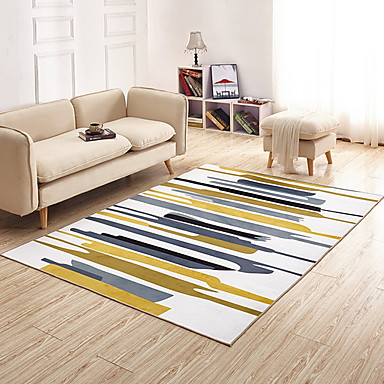 Area Rugs Modern Polyster Rectangular Superior Quality Rug Non