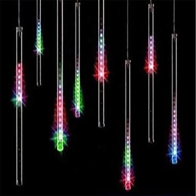 preiswerte LED Lichterketten-30cm * 8 tube 144 leds fallende regen tropfen eiszapfen schnee fall string led wasserdichte weihnachtsbeleuchtung